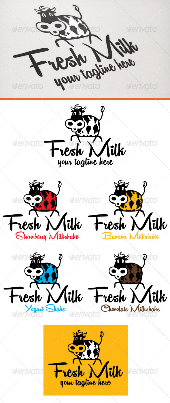 GraphicRiver Fresh milk 6743351