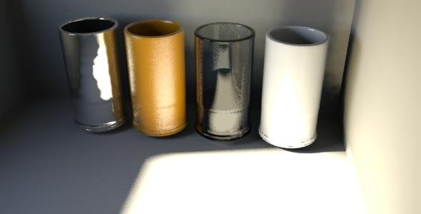 3D Drinking Glass Models - 3DOcean Item for Sale