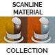 Scanline Procedural Tiles 1x1  Color Noise