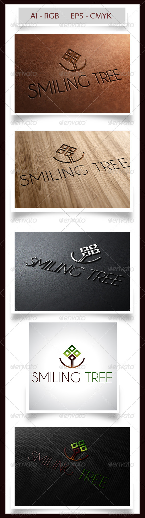 GraphicRiver Smiling Tree 6743446