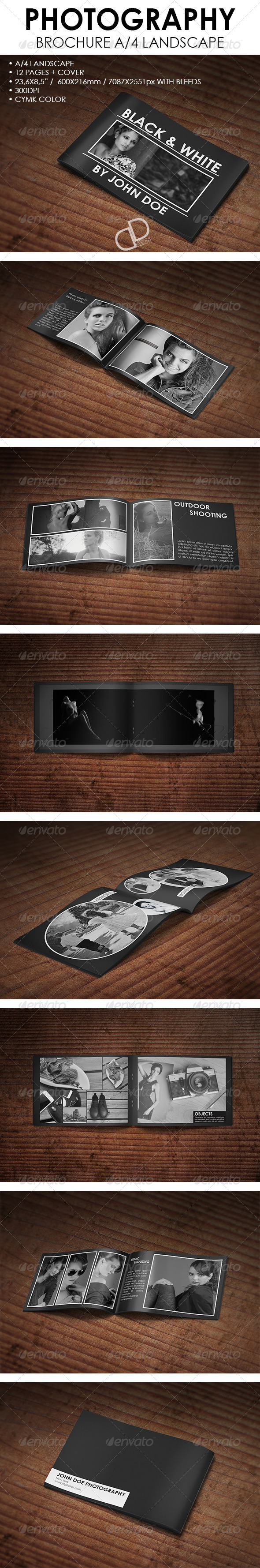 GraphicRiver Photography Bochure A4 Landscape 6744517