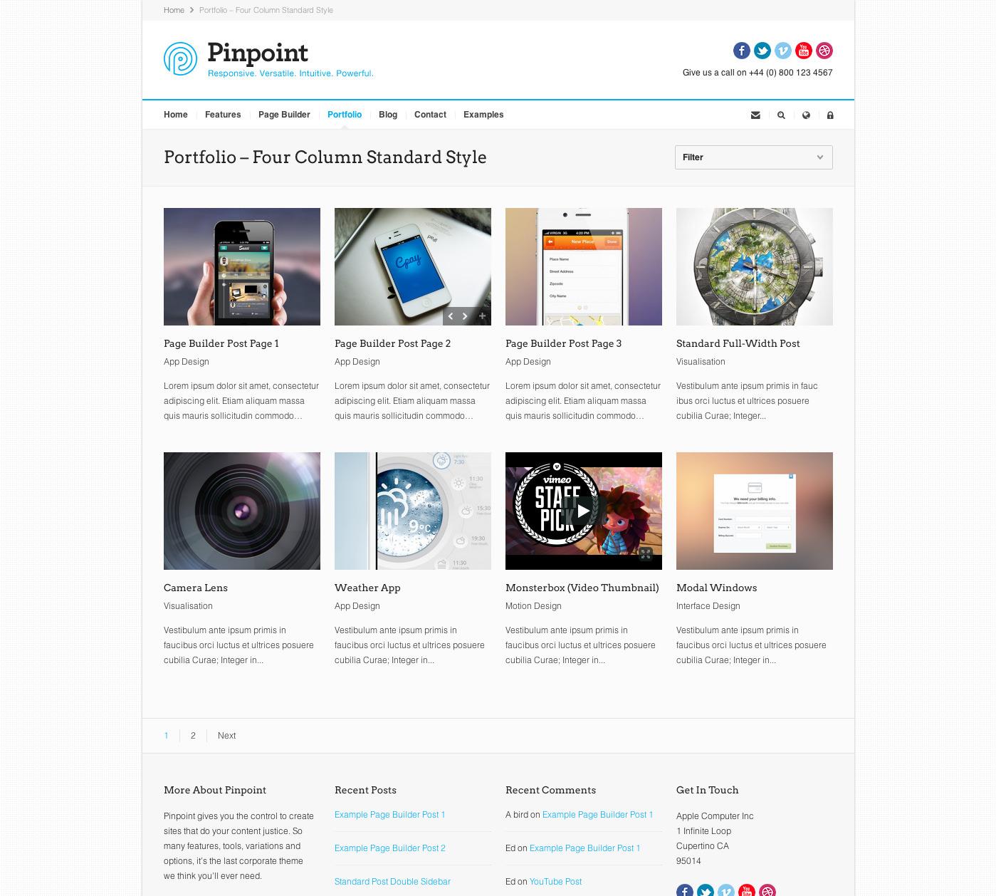 Pinpoint v1.7.30 A Responsive Multi-Purpose WordPress Theme