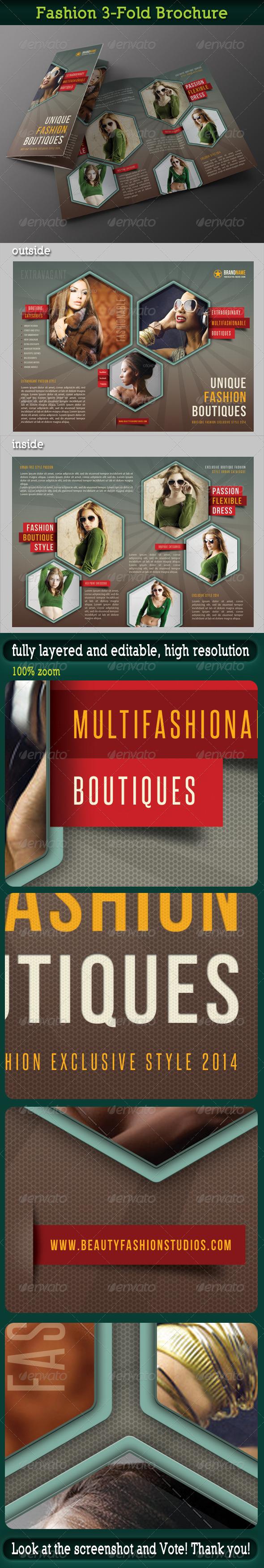 GraphicRiver Fashion 3-Fold Brochure 14 6744549