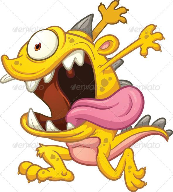 GraphicRiver Cartoon Monster 6744764