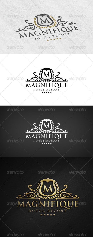 GraphicRiver Elegant Logo Hotel Resort 6745047