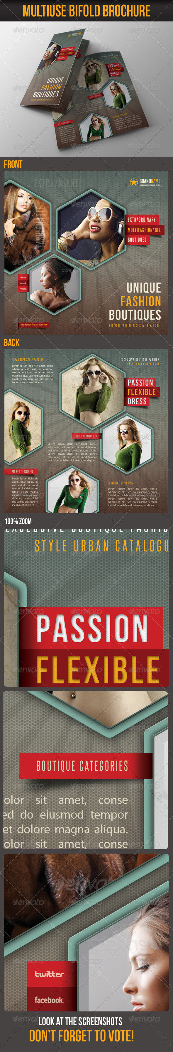 GraphicRiver Multiuse Bifold Brochure 46 6745148