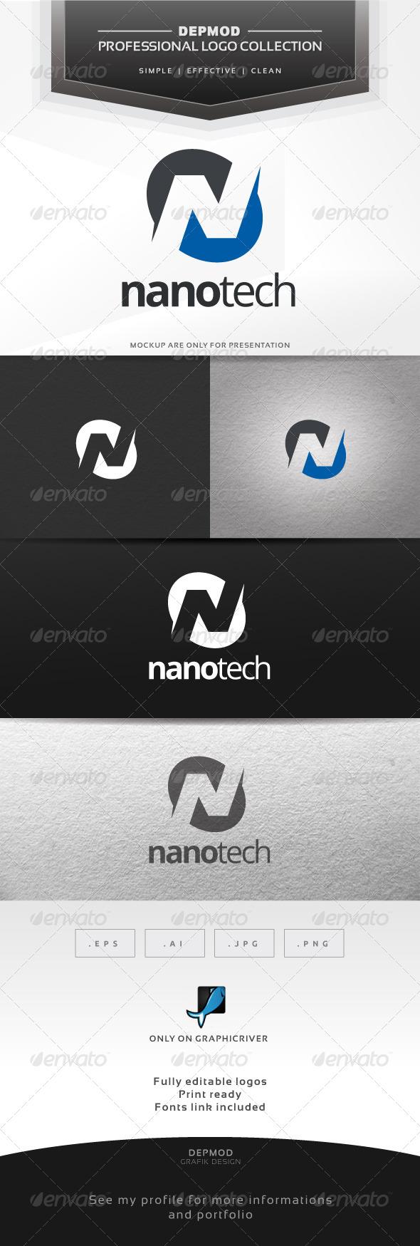GraphicRiver Nano Tech Logo 6746041