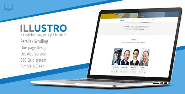 Illustro - Creative Agency Theme