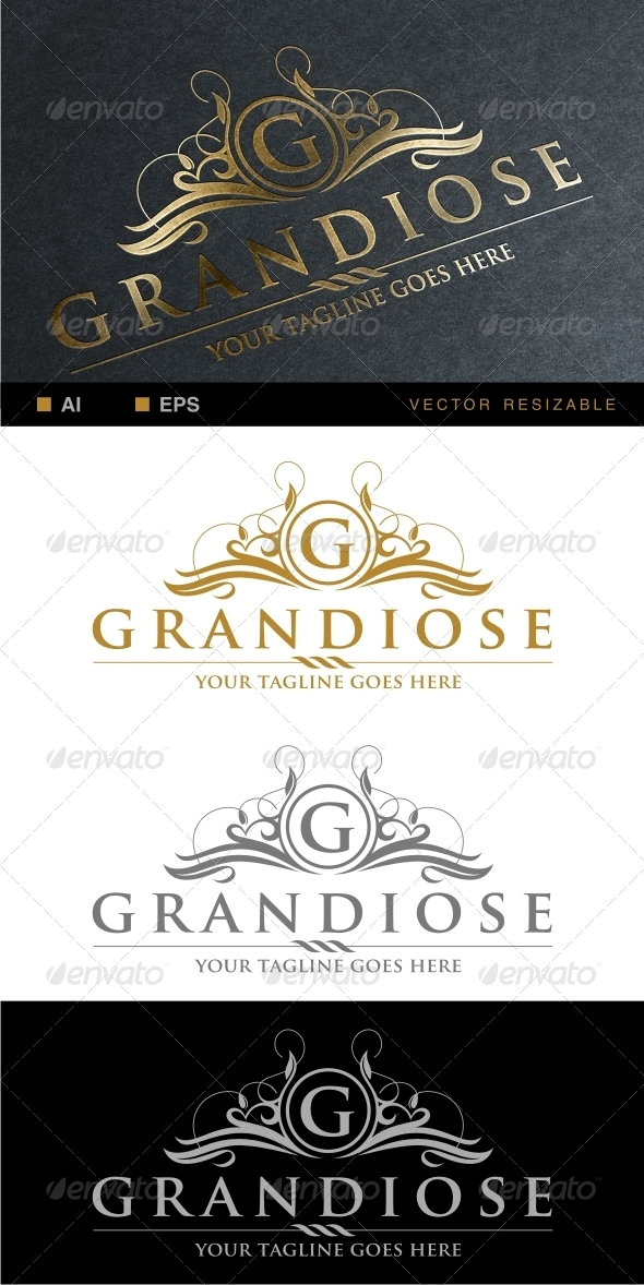 GraphicRiver Grandiose Logo Template 6746655