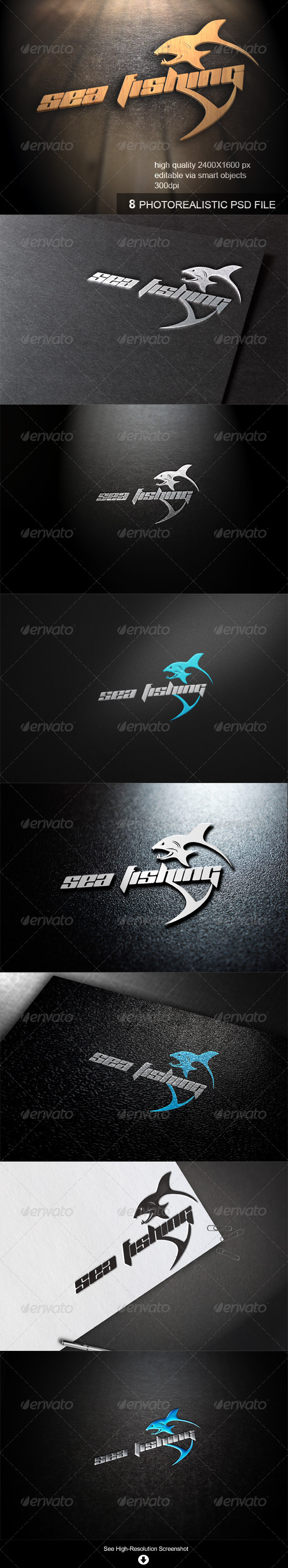 GraphicRiver Logo MockUp 6746661