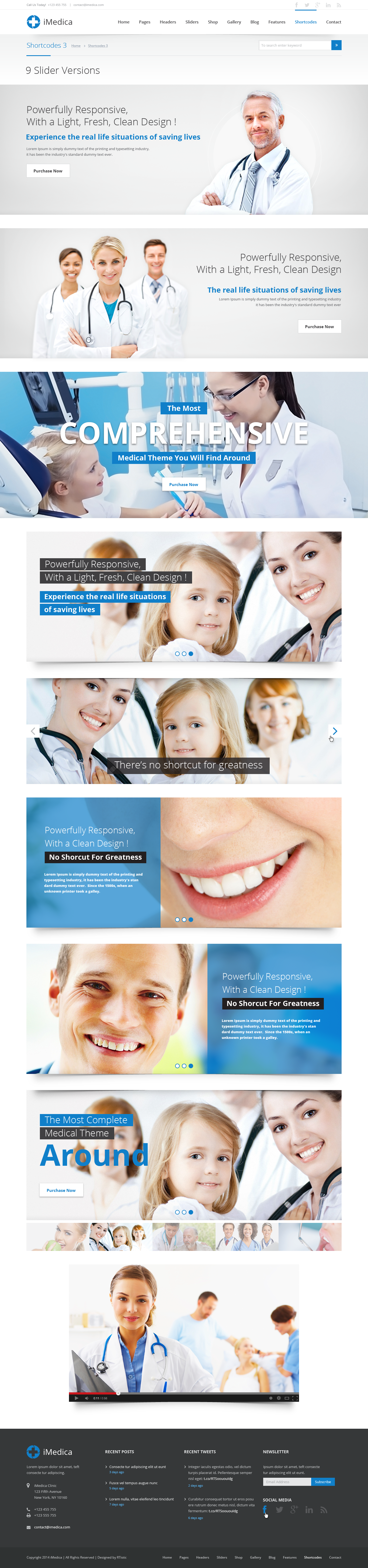 iMedica - Flat, Responsive Medical & Health Theme