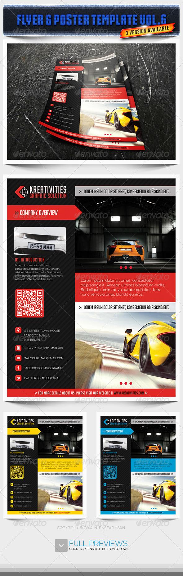 GraphicRiver Corporate Creative Flyer Vol.6 6741796