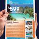 Elegant Travel | Tourism Flyer - GraphicRiver Item for Sale