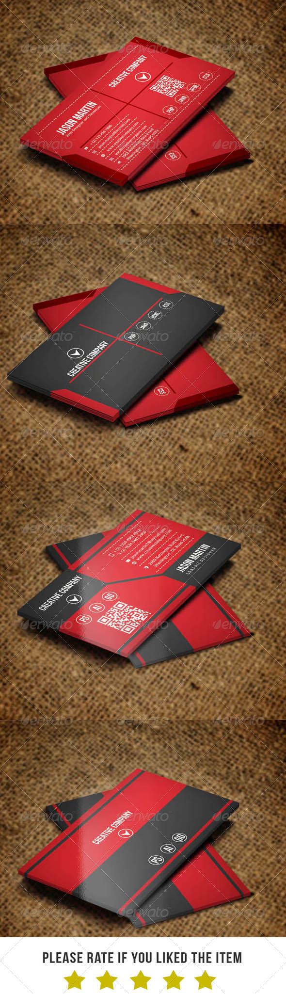 GraphicRiver Classic Business card Bundle V2 6748499
