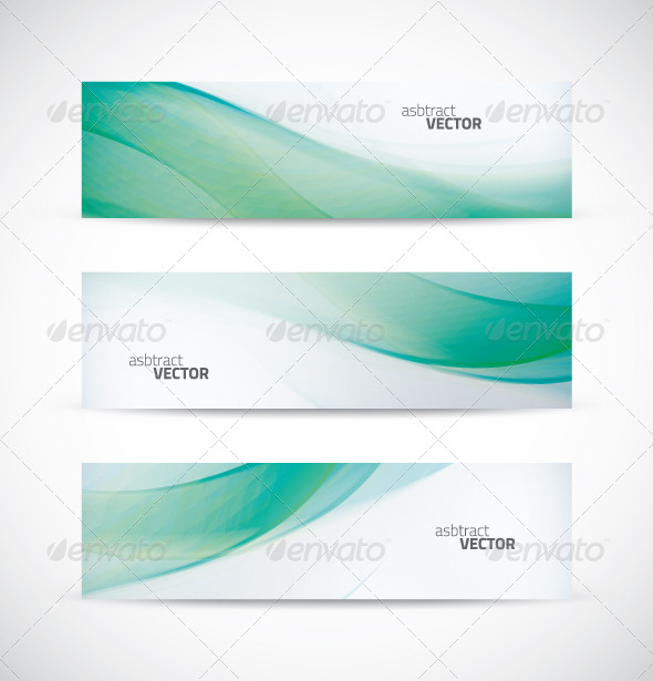 GraphicRiver Ecology Wave Banner Vector 6741635