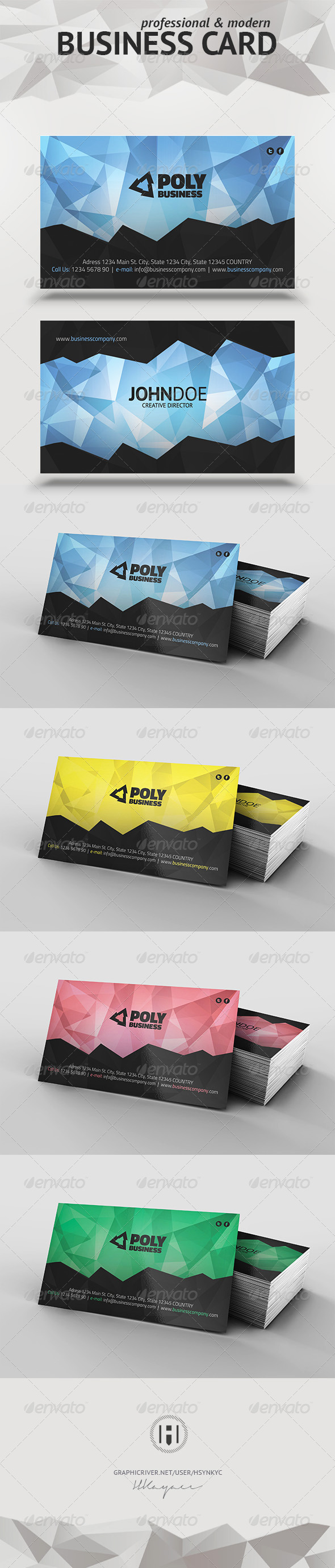 GraphicRiver Business Card 6749458