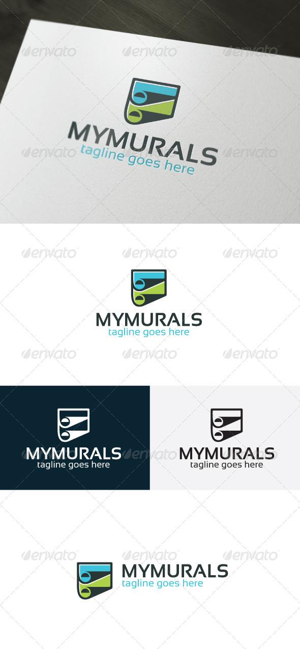 GraphicRiver My Murals Logo 6749570
