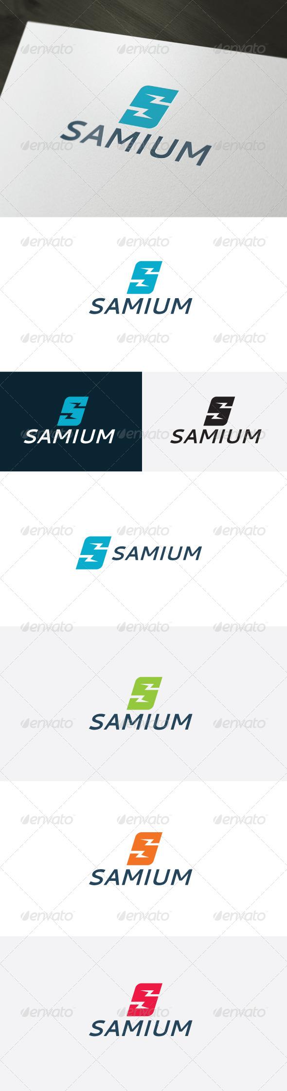 GraphicRiver Samium Logo Letter S 6749583
