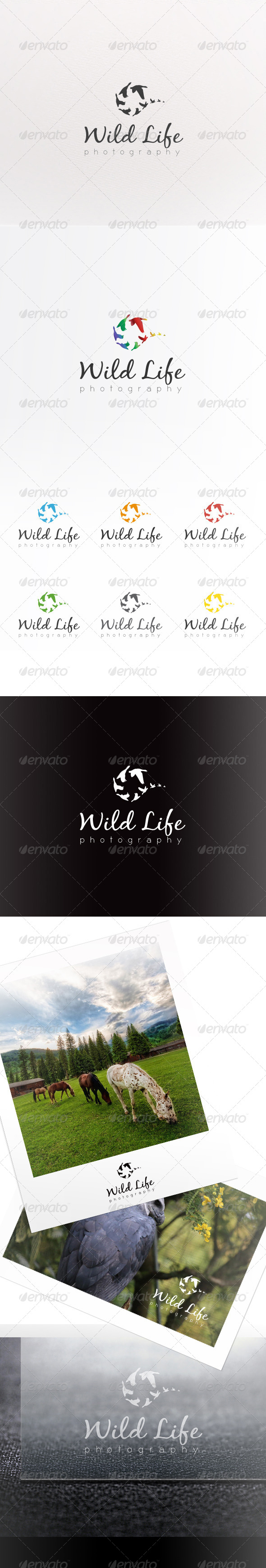 GraphicRiver WildLife Photography Logo 6742205