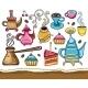 Coffee, yerba mate, tea, set - GraphicRiver Item for Sale