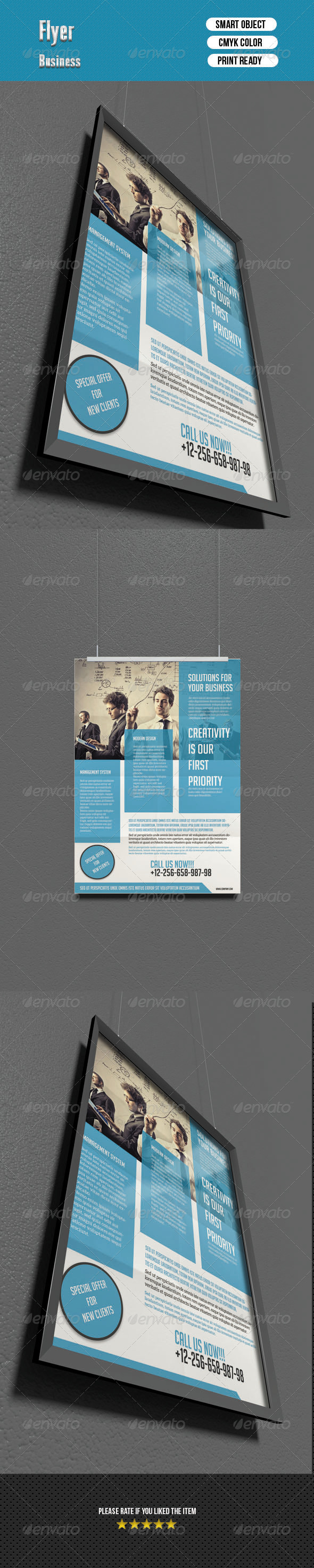 GraphicRiver Corporate Flyer 6749971
