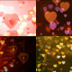 Valentines Day Background and Bokeh pack - VideoHive Item for Sale