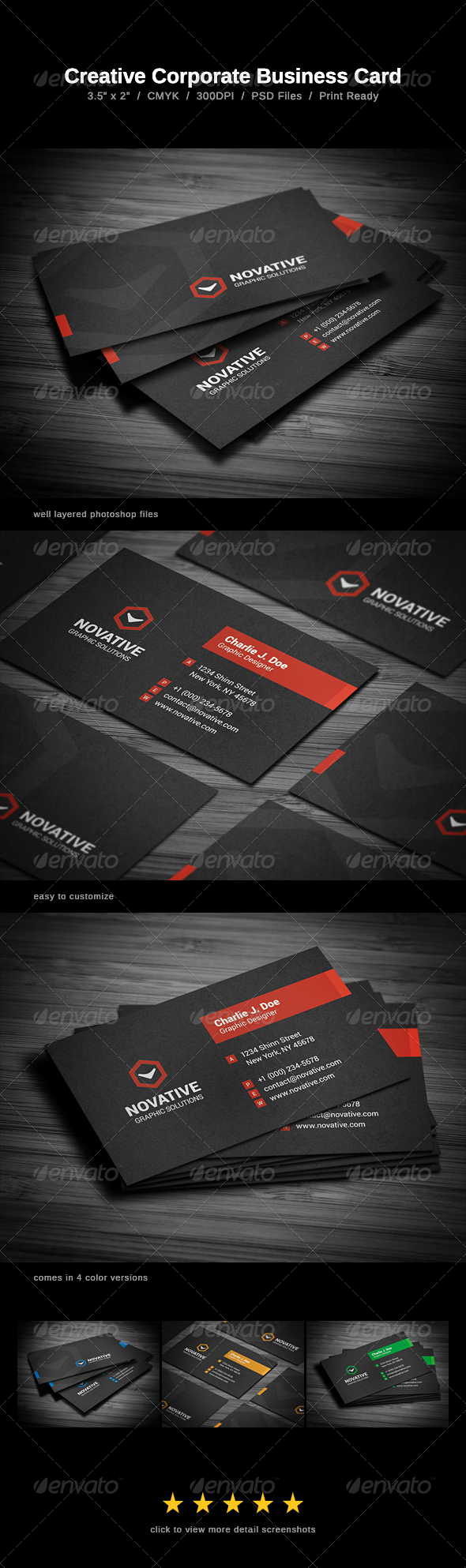 GraphicRiver Creative Corporate Business Card 6750183