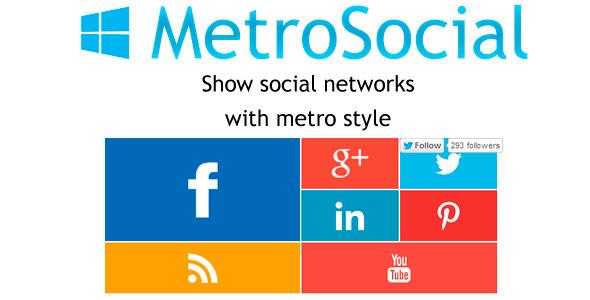 CodeCanyon Metro-Social Prestashop Module 6750262