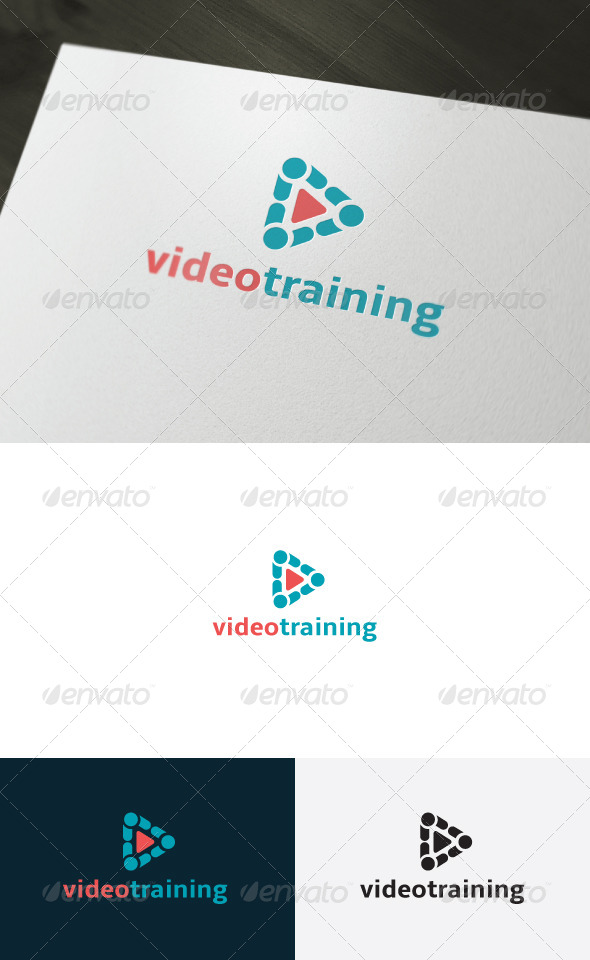 GraphicRiver Video Training Logo 6750948