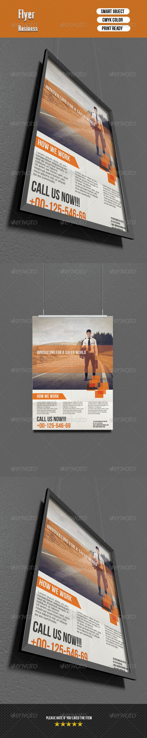 GraphicRiver Corporate Flyer 6751120
