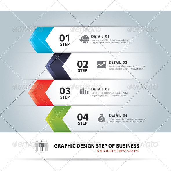 GraphicRiver Business Step Chart and Numbers Design Template 6751197