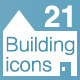 21 Building Icons - GraphicRiver Item for Sale