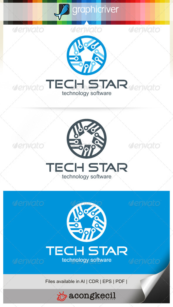 GraphicRiver Tech Star 6751219