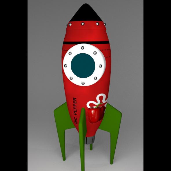 Funrocket 2 - 3DOcean Item for Sale