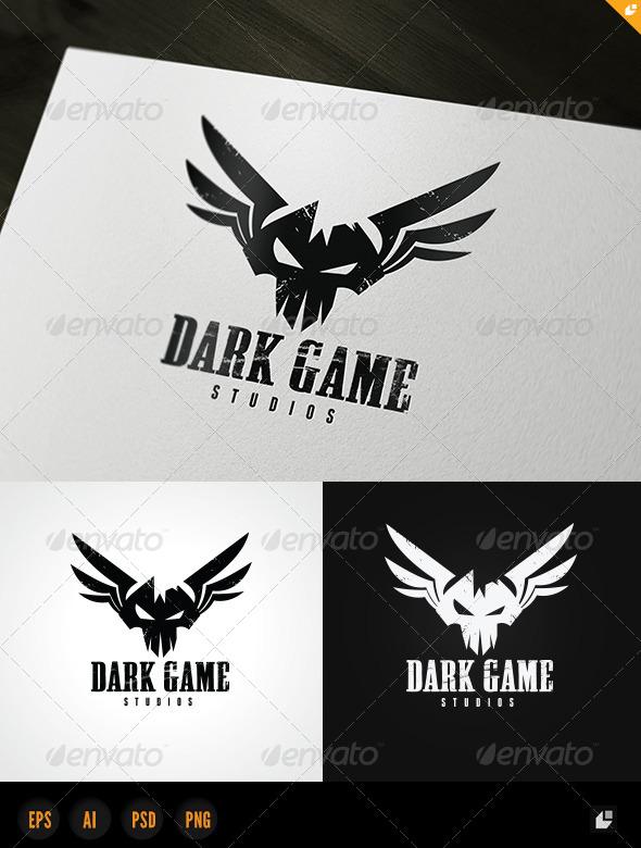 Dark Game Logo