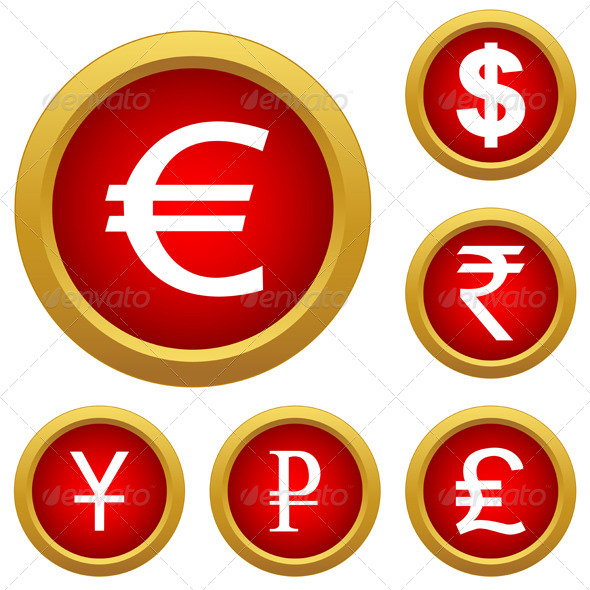 GraphicRiver Money Set Buttons 6752348