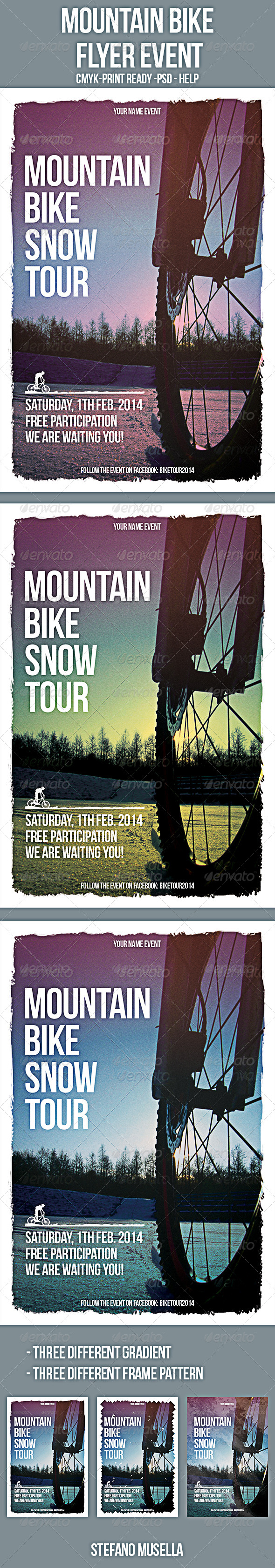 GraphicRiver Mountain Bike Flyer 6752419