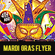 Mardi Gras Party Flyer v.2 - GraphicRiver Item for Sale