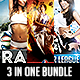 3 in One Sports Flyer Bundle - GraphicRiver Item for Sale