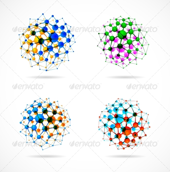 GraphicRiver Chemical Spheres 6753732
