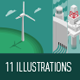 Energy Sources - GraphicRiver Item for Sale