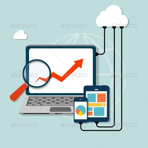GraphicRiver Cloud Computing Concept 6753969
