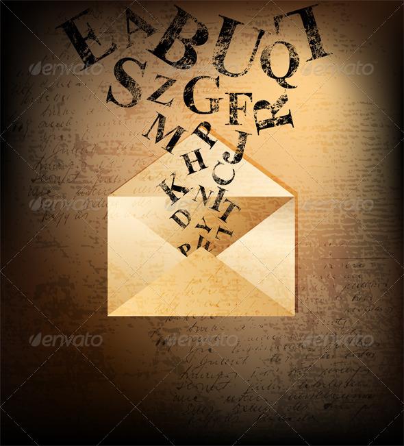 Graphic River Letter Vectors -  Decorative  Backgrounds 707523
