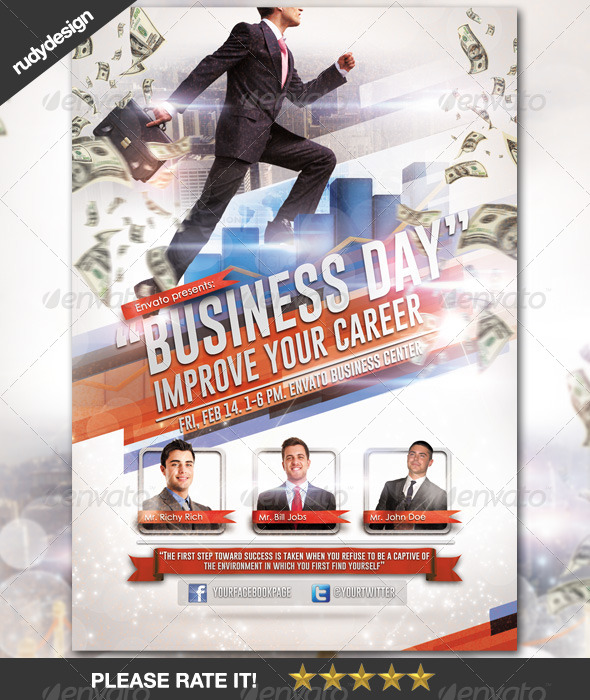 GraphicRiver Business Career Day Template Design 6754516