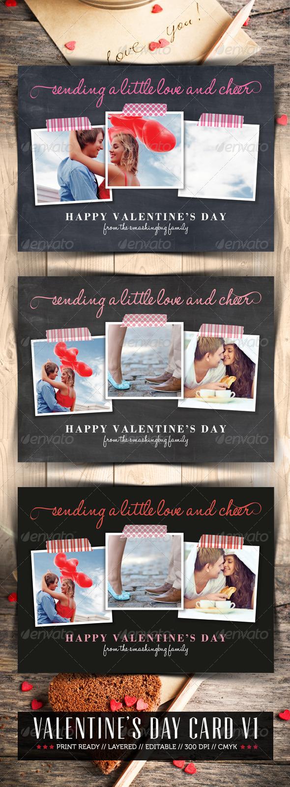 Valentine Day V1 - Greeting Cards Cards & Invites