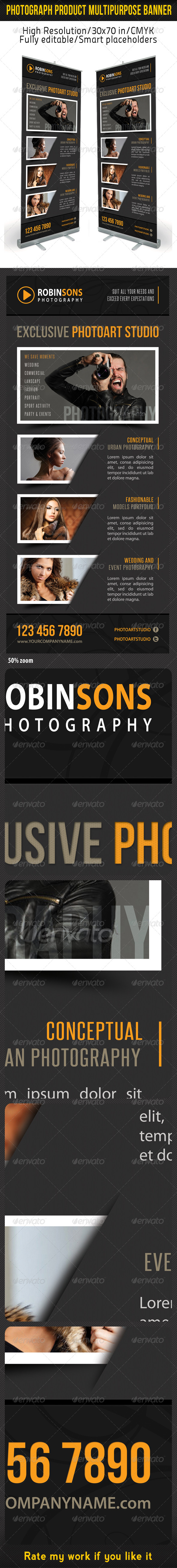 GraphicRiver Photograph Product Multipurpose Banner 08 6754945