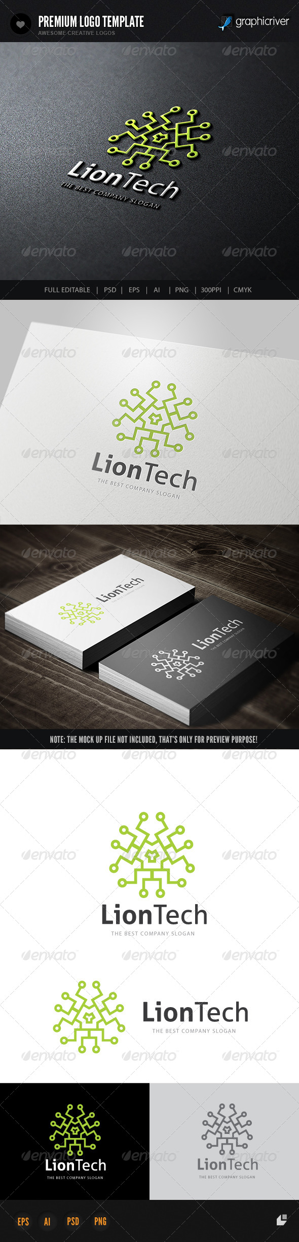 GraphicRiver Lion Tech 6755109