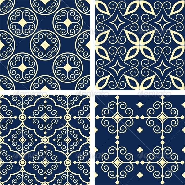 GraphicRiver Patterns Set 6755141