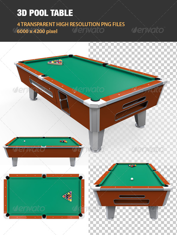 GraphicRiver 3D Pool Table 6755196