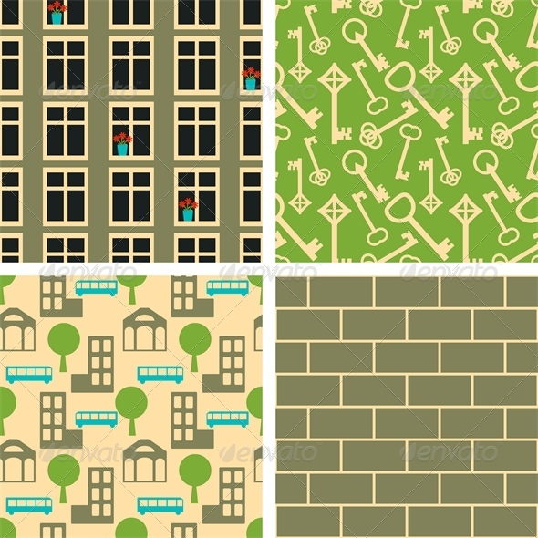 GraphicRiver Patterns Set 6755257